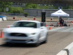 During the Ride & Drive, attendees were able to compete in a