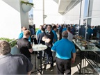 Ford of Canada Reception on the Aqua Terrace at the Hilton Bayfront.