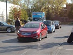 Fleet managers drove a number of vehicles, from the Chevrolet Volt to