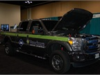 Venchurs had a CNG F-series pickup at the show. Photo by Greg Basich.