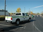 Venchurs brought a natural gas F-250 to the event. Photo by Lauren
