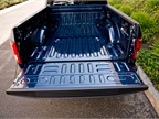 The truck includes a locking power tailgate.