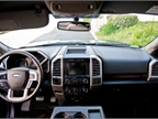 The cabin includes 10-way power adjustable seats for the driver and