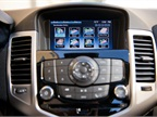 The Chevrolet MyLink infotainment system displays on a 7-inch screen.