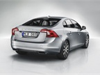 An integrated spoiler is a new feature on the Volvo S60. Photo