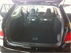The VW Jetta Sportwagen offers 66.9 cubic feet of space with the rear