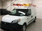 Weather Guard s roof rack has two Werner ladders.